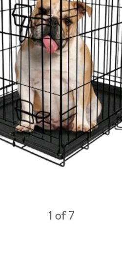 "New 36"" Folding Dog Crate W Divider for Sale in Charlotte,  NC"