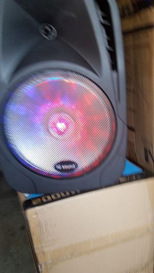IQ sound 12 in speaker with lights ball for Sale in Norwalk, CA