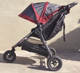 Britax City Mini Jogger Red & Black. Travel Bag Incl for Sale in Los Angeles,  CA