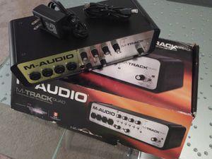 M-Audio M-Track Quad for Sale in Pompano Beach, FL