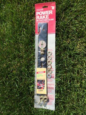 Universal Power rake/dethatcher lawn mower blade for Sale in Grand Blanc, MI