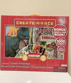 Bendon Publish Dinosaur Create a Face Kit for Sale in Arlington,  VA