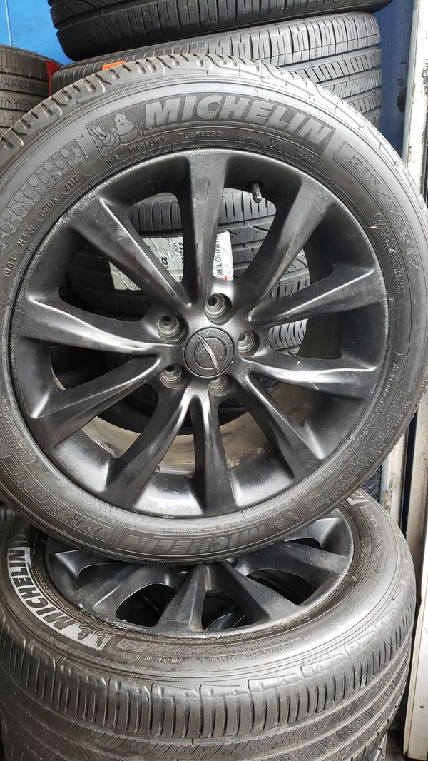 4 set of Michelin tires and rims