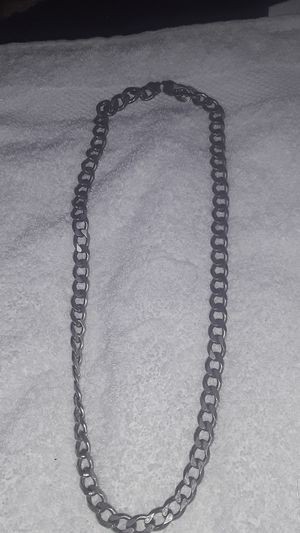 Mens Sterling Silver Necklace for Sale in Las Vegas, NV