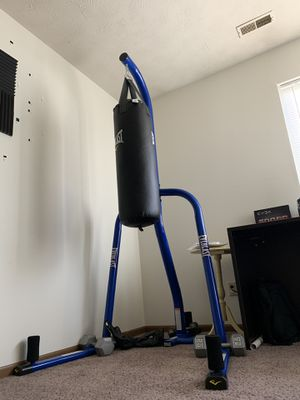 Punching Bag and Stand for Sale in Wheeling, WV