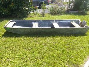 Aluminum 14ft Boat for Sale in Pompano Beach, FL