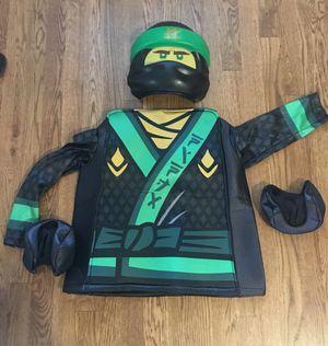 Reduced!!! Lego Ninjago Boys' Lloyd Halloween costume Boys M 8-10 yrs for Sale in Murfreesboro, TN