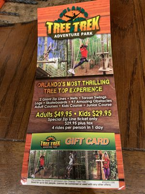 Orlando Tree Trek Admission for Sale in Lake Wales, FL