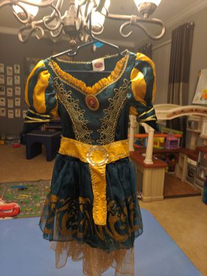 Disney princess Merida dress costume 3T for Sale in Gilbert, AZ