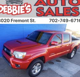 2012 Toyota Tacoma 4x4 for Sale in Las Vegas,  NV