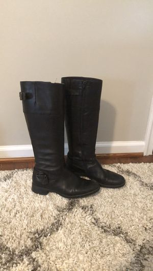 Aldo Leather Riding Boots for Sale in Glen Mills, PA