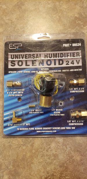 Universal humidifier solenoid 24v for Sale in Carpentersville, IL