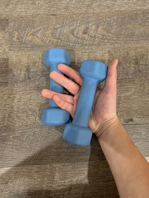 Beautiful Dumbbells 3 lbs for Sale in Santa Clarita, CA