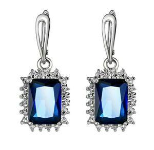 Blue Sapphire Drop Earrings for Sale in Wichita, KS