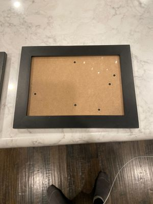 Set of two black frames for Sale in Frisco, TX