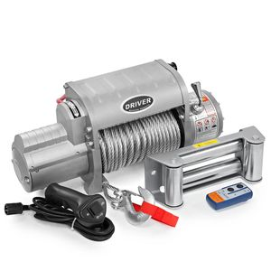 Electric Recovery Winch w/ Wireless Remote (12,000 lbs. Capacity) by Driver Recovery for Sale in Tamarac, FL