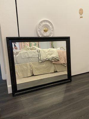 Large black wall mirror for Sale in La Mesa, CA