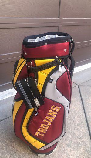 USC Trojans Golf Bag NWT for Sale in Huntington Beach, CA