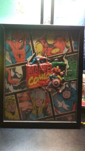 Framed Marvel Comics Poster for Sale in San Diego, CA