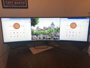 """49"""" ultra wide curved Samsung monitor for Sale in Pacifica, CA"""