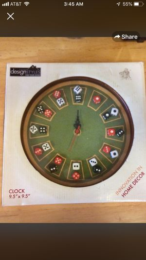 Wall Clock Pool Table style for the Home Man Cave Play Room for Sale in Chicago, IL