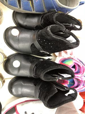 TWINS Toddler Girls Gymboree Black Boots - Size 6 Everything 50% off now for Sale in Arlington, TX