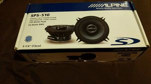 Brand New Alpine 2-way Speaker Pair - 5-1/4 for Sale in Asheville, NC