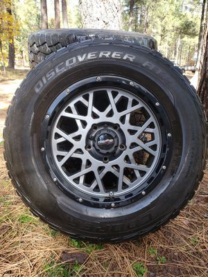 5 lug trims and tires, for Sale in Show Low, AZ