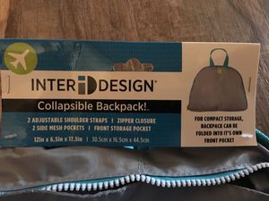 ID-Inter Design collapsible backpack. for Sale in Tujunga, CA