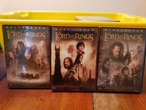 The Lord of the Rings DVDS for Sale in Lakeland, FL