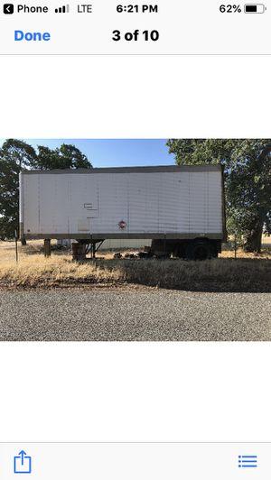 Semi truck trailer in red bluff for Sale in Oroville, CA