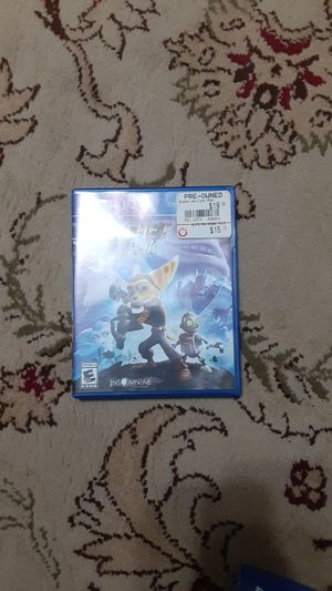 Ratchet and Clank PS4 for Sale in Glendale, AZ