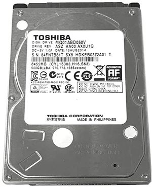 500GB TOSHIBA HDD for Sale in Charleston, SC