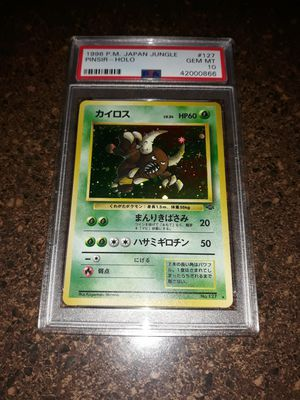 Pokemon Pinsir Japanese Jungle PSA10 GEM Mint for Sale in Queens, NY