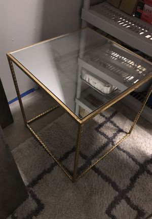 Mirror top with gold trim base for Sale in Philadelphia, PA