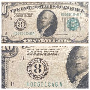 1928 $10 Note District 8 St Louis With Gold Clause - Circulated Condition SEE PICS! for Sale in Geneva, IL