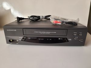 DAEWOO VCR 4 Head Model DV-T5DN for Sale in Anaheim, CA