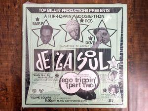 De La Soul - EGO TRIPPIN' (PT.2) vinyl LP record SINGLE 1993 Biz Markie TB-595 for Sale in Buena Park, CA
