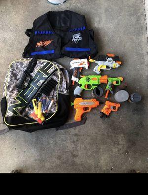 Nerf gun bundle lot for Sale in Rancho Cucamonga, CA