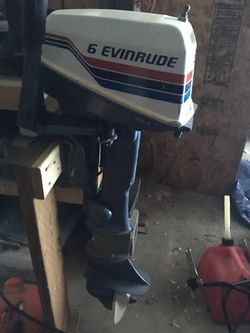 76 evinrude 6hp outboard for Sale in Chelan,  WA