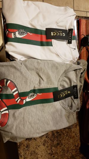Brand new gucci shirts never worn for Sale in Phoenix, AZ