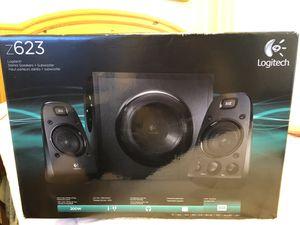 Logitech z623 Stereo Speakers + Subwoofer for Sale in Diamond Bar, CA