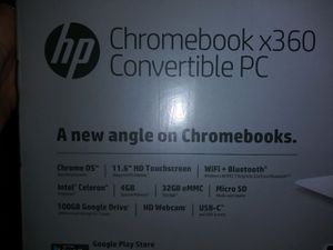 Chromebook x360converible PC. HD for Sale in Austin, TX