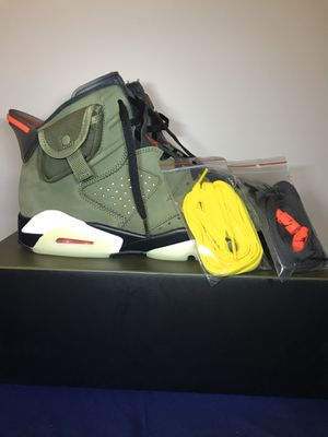Jordan 6 Travis Scott for Sale in Pasadena, CA