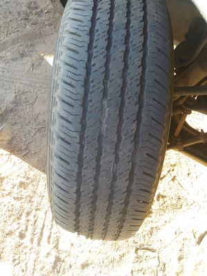 Semi new Tires with rims for Sale in Calipatria, CA