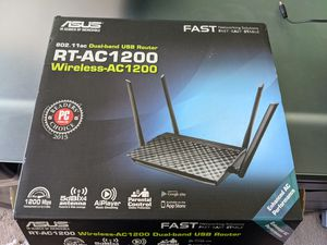 Asus RT-AC1200 Dual-band Wireless-AC1200 router for Sale in Tucker, GA