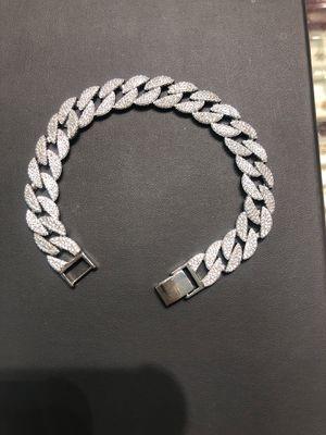 Silver (.925) with cz stones bracelet for Sale in Philadelphia, PA