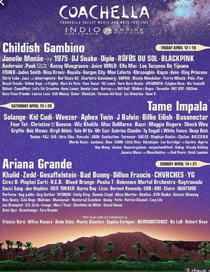 2 Coachella Tickets GA Weekend 1 for Sale in West Los Angeles, CA