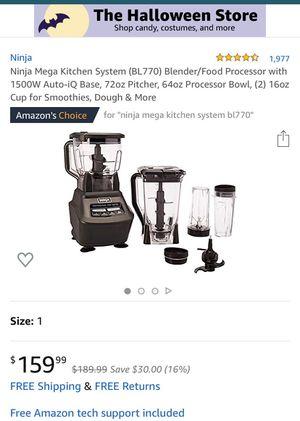 Ninja mega kitchen system blender for Sale in Philadelphia, PA