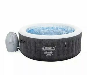 "NEW Coleman SaluSpa 4 Person Round Portable Inflatable Outdoor Hot Tub Spa 71"" x 26 for Sale in Winston-Salem, NC"